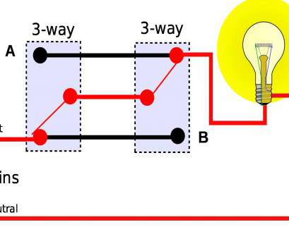 How To Wire A, Way Switch, A Light Fantastic Wiring Diagram, Way Intermediate Lighting Reference Wire 3, Switch With Fresh 4, Light Switch Wiring, How To Photos