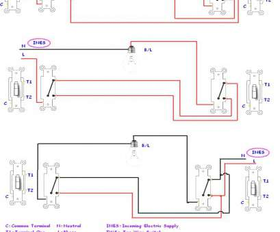 How To Wire A, Way Switch, A Light Best Wiring, Way Light Switch Diagram Coachedby Me, In A Wellread Pictures