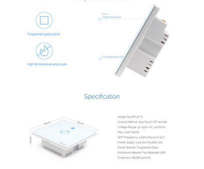 how to wire a wifi light switch uk Details about Sonoff T1 1/2/3 Gang WiFi & RF 86 Type UK Wall Touch Light Switch, Smart Home How To Wire A Wifi Light Switch Uk Best Details About Sonoff T1 1/2/3 Gang WiFi & RF 86 Type UK Wall Touch Light Switch, Smart Home Collections