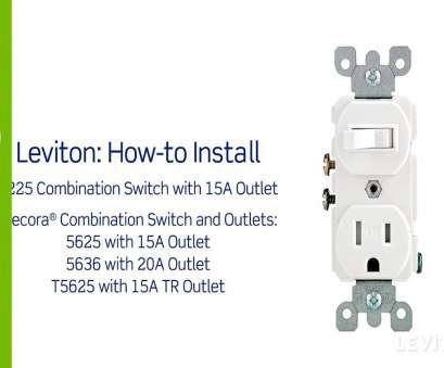 how to wire an electrical outlet diagram Leviton Presents, To Install A Combination Device With Single Inside Outlet Wiring Diagram For How To Wire An Electrical Outlet Diagram Popular Leviton Presents, To Install A Combination Device With Single Inside Outlet Wiring Diagram For Pictures