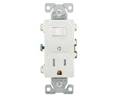 how to wire an electrical outlet Eaton 15, 120-Volt 5-15 3-Wire Combination Receptacle, Toggle Switch, White How To Wire An Electrical Outlet Brilliant Eaton 15, 120-Volt 5-15 3-Wire Combination Receptacle, Toggle Switch, White Images