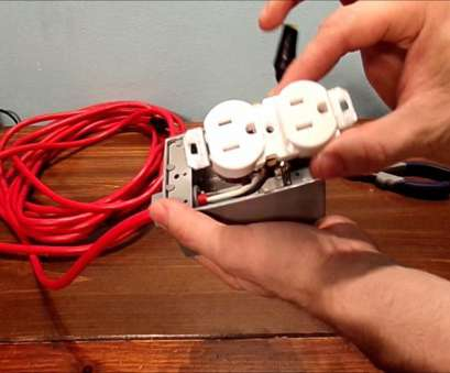 how to wire an electrical outlet with an extension cord HOW TO MAKE EXTENSION CORD OUTLET 18 Fantastic How To Wire An Electrical Outlet With An Extension Cord Ideas