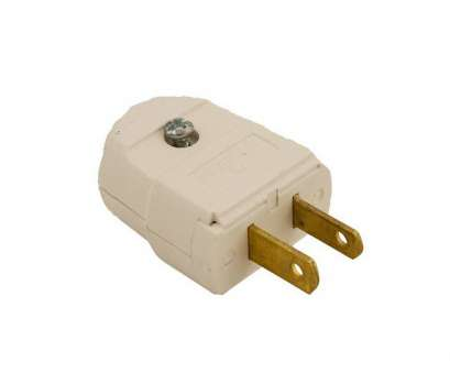 how to wire an electrical plug Leviton 15, 125-Volt 2-Pole 2-Wire Polarized Plug, White How To Wire An Electrical Plug Brilliant Leviton 15, 125-Volt 2-Pole 2-Wire Polarized Plug, White Ideas