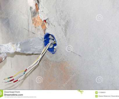 how to wire an electrical wall outlet Download Wall Socket Installation.Work On Installing Electrical Outlets. Electrician Prepares, Wiring Fitting How To Wire An Electrical Wall Outlet Perfect Download Wall Socket Installation.Work On Installing Electrical Outlets. Electrician Prepares, Wiring Fitting Images