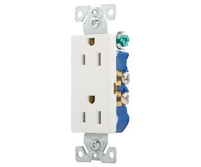 how to wire an electrical wall outlet Shop Eaton 15-Amp 125-Volt White Indoor Decorator Wall Outlet at How To Wire An Electrical Wall Outlet Brilliant Shop Eaton 15-Amp 125-Volt White Indoor Decorator Wall Outlet At Photos