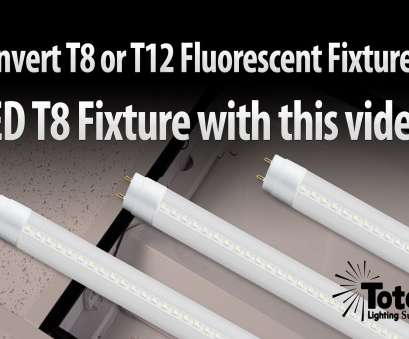 how to wire a 8 foot led light T12 or T8 Fluorescent fixture to, T8 lighting retrofit from,, YouTube How To Wire, Foot, Light Perfect T12 Or T8 Fluorescent Fixture To, T8 Lighting Retrofit From,, YouTube Photos