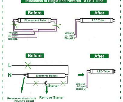 How To Wire, Foot, Light Best Feit Electric 4, T8/T12 17 ...  Ft Fluorescent Lights Wiring Diagram For on