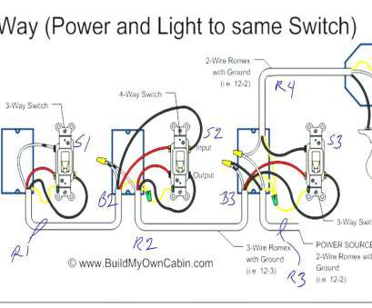 Gang Switch Multiple Lights Wiring Diagram on