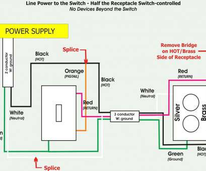 how to wire half switched electrical outlet Leviton Outlet Wiring Diagram Combination Switch, T&er Stuning At How To Wire Half Switched Electrical Outlet New Leviton Outlet Wiring Diagram Combination Switch, T&Er Stuning At Pictures