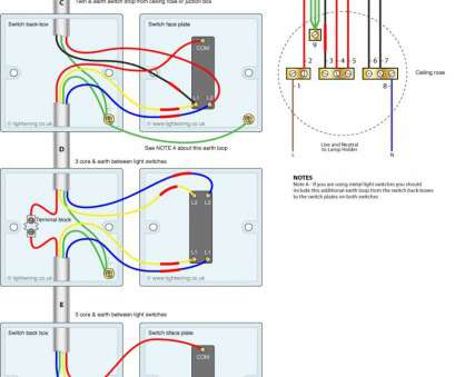 how to wire in a 3 way light switch 3, Light Switching, Cable Colours Wiring Inside, To Wire A Three Switch Diagram 20 Cleaver How To Wire In, Way Light Switch Images