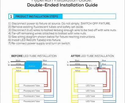 how to wire a 2 light ballast 2-lamp T8 Ballast Wiring Diagram Fresh Wiring Diagram, Tube Philips, T8 Led How To Wire, Light Ballast Most 2-Lamp T8 Ballast Wiring Diagram Fresh Wiring Diagram, Tube Philips, T8 Led Collections