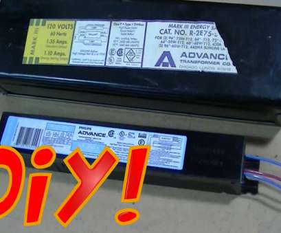 how to wire a 4 light ballast Replacing, Ballast on a Fluorescent Light Fixture DIY How To Wire, Light Ballast Brilliant Replacing, Ballast On A Fluorescent Light Fixture DIY Collections