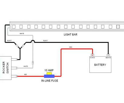 wiring diagram, best � how to wire two light bars to one switch an  example of an, light wiring