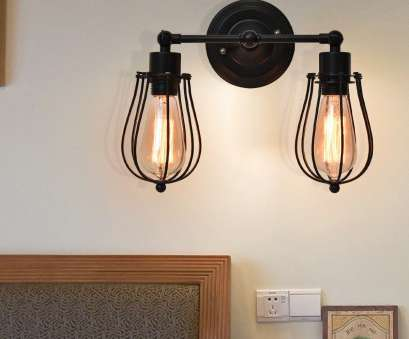 how to wire a 2 light lamp Costway Vintage Industrial Retro Edison Wall Sconce Light Lamp Wire Caged 2- light Bulb 0 How To Wire, Light Lamp Brilliant Costway Vintage Industrial Retro Edison Wall Sconce Light Lamp Wire Caged 2- Light Bulb 0 Ideas