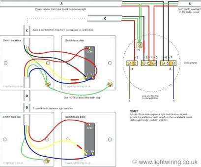 10 Fantastic How To Wire, Light Switch Uk Pictures