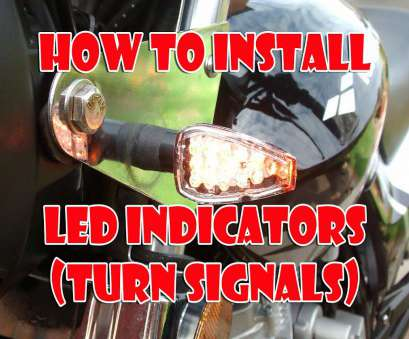 how to wire led lights on motorcycle How to install, Indicators / Turn signals on a Motorcycle How To Wire, Lights On Motorcycle Creative How To Install, Indicators / Turn Signals On A Motorcycle Solutions