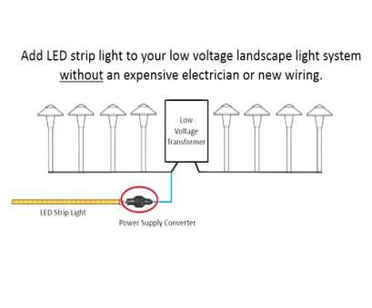 how to wire outdoor lights ... Installing, Strip Lights With Your, Voltage Landscape Light Incredible Outdoor Lighting Wiring Diagram Uplighting 20 Brilliant How To Wire Outdoor Lights Images