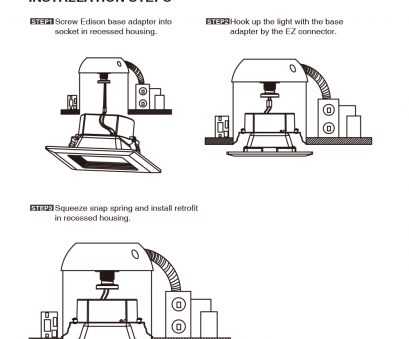 how to wire recessed ceiling lights ... square recessed light installation guide lightbox moreview How To Wire Recessed Ceiling Lights Simple ... Square Recessed Light Installation Guide Lightbox Moreview Images