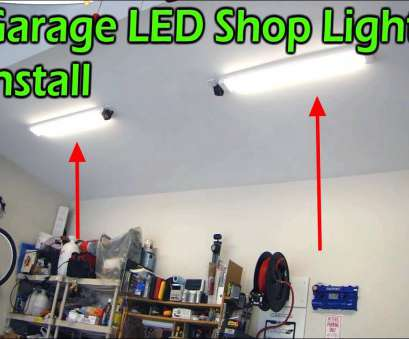 how to wire recessed lighting in garage Garage, Shop Light Fixture, Replaces Fluorescent How To Wire Recessed Lighting In Garage Creative Garage, Shop Light Fixture, Replaces Fluorescent Pictures