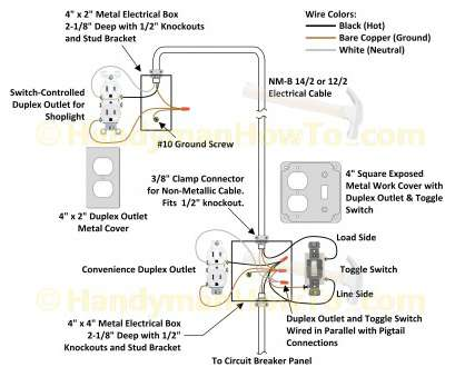 How To Wire, Switch Light Socket Brilliant ... Cable Wiring Diagram House Valid, Sockets, Light Socket Of 2 Galleries