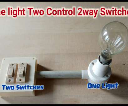 how to wire two switches to one light bulb One light, way Switch Connection How To Wire, Switches To, Light Bulb Popular One Light, Way Switch Connection Ideas