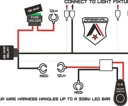 How To Wire Up A Light Bar Perfect Led Light, Wiring Harness Diagram, Kiosystems.Me Images