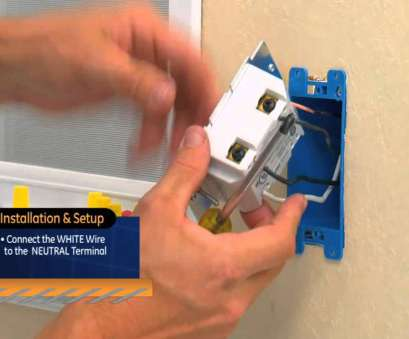 how to wire up a light switch youtube GE Z-Wave, On/Off Switch How To Wire Up A Light Switch Youtube Nice GE Z-Wave, On/Off Switch Solutions