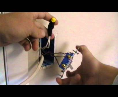 how to wire up a light switch youtube how to wire an outlet, of a switch How To Wire Up A Light Switch Youtube Practical How To Wire An Outlet, Of A Switch Ideas