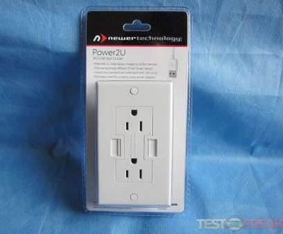 how to wire up a wall outlet Review of Newer Technology Power2U AC/USB Wall Outlet, Technogog How To Wire Up A Wall Outlet Best Review Of Newer Technology Power2U AC/USB Wall Outlet, Technogog Images