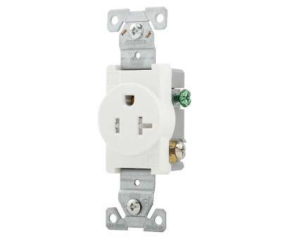 how to wire up a wall outlet Shop Eaton 20-Amp 125-Volt White Round Wall Tamper Resistant How To Wire Up A Wall Outlet Practical Shop Eaton 20-Amp 125-Volt White Round Wall Tamper Resistant Photos