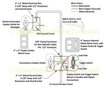 How To Wire Up A, Way Toggle Switch Top Staircase Wiring Diagram Using, Way Switch, Latest With, Light Ideas