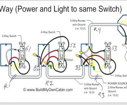 How To Wire Up, Gang Light Switch Professional 4, Switch Wiring Diagram Light Middle Lovely 4, Switch Wiring Diagrams Gang 1 Diagram Troubleshooting Image Images