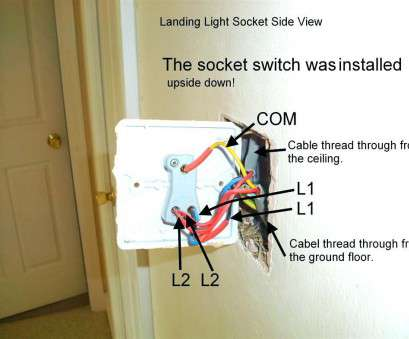 How To Wire Up, Gang Light Switch Brilliant Hall, Landing Light Wiring Diagram 4K Pictures 4K Pictures Rh 4Kepics, 4-Way Light Switch Wiring Diagram 3-Way Switch Light Wiring Diagram Photos