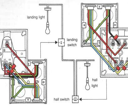how to wire up two switches to one light Two-way landing switch wiring diagram How To Wire Up, Switches To, Light Top Two-Way Landing Switch Wiring Diagram Collections