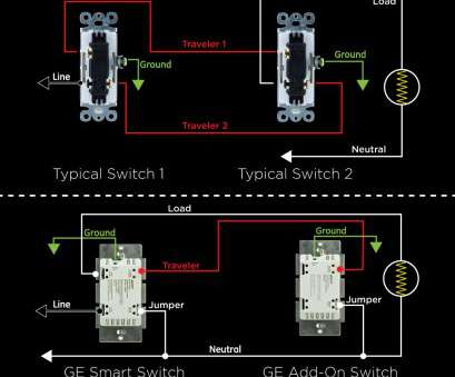 how to wire a z wave 3 way switch ... 3, Switch Wiring Diagram GE 12724 12723 Zwave Z Wave Wiring Diagram Jasco Products Beautiful Ge How To Wire, Wave 3, Switch Cleaver ... 3, Switch Wiring Diagram GE 12724 12723 Zwave Z Wave Wiring Diagram Jasco Products Beautiful Ge Ideas
