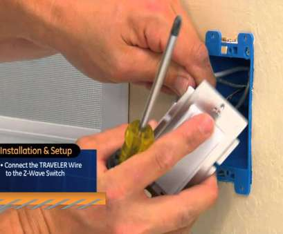 how to wire a z wave 3 way switch GE Z-Wave, way On/Off kit 8 Popular How To Wire, Wave 3, Switch Collections