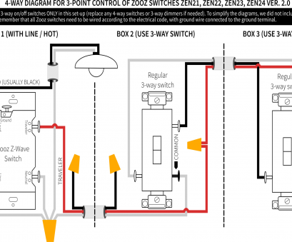 How To Wire, Wave 3, Switch Best GE Z-Wave Plus In-Wall ...  Way Wiring Diagram Ge Z Wave on