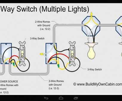 how to wire a 3 way light switch circuit Inspirational Three, Light Switch Wiring Diagram, 3 12 Creative How To Wire, Way Light Switch Circuit Ideas