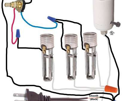 how to wire a 3 way rotary lamp switch B&P Lamp 3-Way, 4-position, 2 Circuit Rotary Switch with removable knob, 5/8