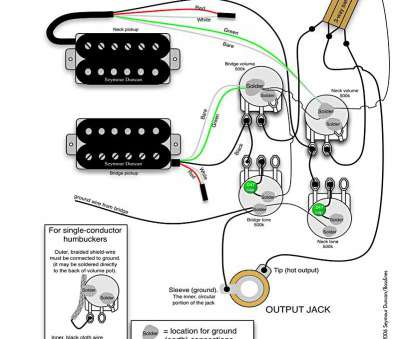how to wire a 3 way switch on a guitar Wiring Diagram, 2 Humbuckers Tone Volume 3, Switch, In Guitar Humbucker 1 How To Wire, Way Switch On A Guitar Creative Wiring Diagram, 2 Humbuckers Tone Volume 3, Switch, In Guitar Humbucker 1 Pictures
