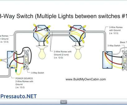 how to wire a 3 way switch to two lights 3, Switch Wiring Diagram Multiple Lights Graphic Diagrams Brilliant 19 Perfect How To Wire, Way Switch To, Lights Images