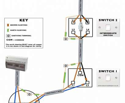 how to wire a 3 way switch with 1 light 3, Switch Diagram Wiring, 1 Light 2 Switches Uk Best Of For 16 Cleaver How To Wire, Way Switch With 1 Light Images