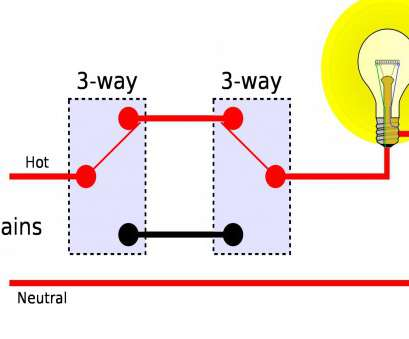 How To Wire, Way Switch With 12-2 Top ... 2, Switch Wiring Diagram, 3, Switch Wiring Diagrams, Wiring Diagram 3 Way Images