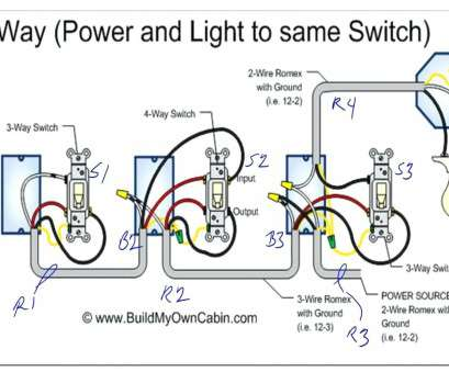 How To Wire, Way Switch With 12-2 Creative 3, Dimmer Switch Wiring Diagram Four, Sample Symbols A Wires In With Random 2 Collections