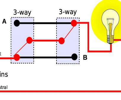 how to wire a 3 way switch with one light ... wiring diagram, two gang, way switch, 3 switches multiple lights 4 light of How To Wire, Way Switch With, Light Top ... Wiring Diagram, Two Gang, Way Switch, 3 Switches Multiple Lights 4 Light Of Pictures