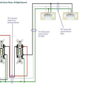 how to wire a 3 way switch with one light Wiring, Lights To, Switch Diagram On, Switching, Throughout How To Wire, Way Switch With, Light Most Wiring, Lights To, Switch Diagram On, Switching, Throughout Collections