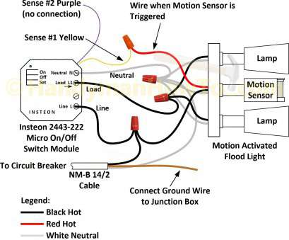 How To Wire, Way Switch With Motion Sensor New 3, Motion Sensor Switch Wiring Diagram Awesome Light Endear Detector Collections