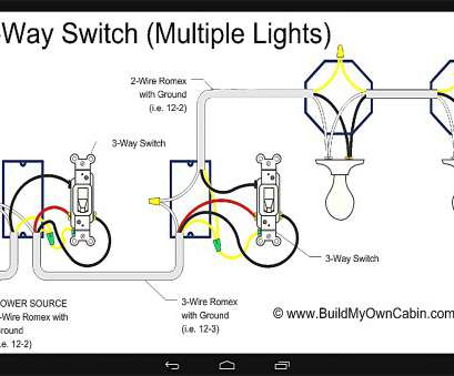 How To Wire, Way Switch With Multiple Lights Diagram Brilliant ...  Way Switch Wiring Diagram Multiple Lights Series on