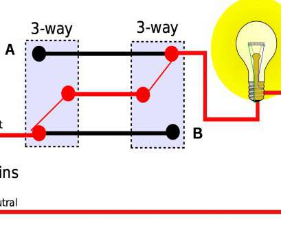 How To Wire, Way Switch With Multiple Lights Diagram Brilliant ...  Way Switch Wiring Diagram More Than One Light on
