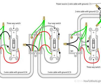 how to wire a 3 way switch with multiple outlets How To Wire A Light Switch From An Outlet Diagram Multiple Lights On With Switches How To Wire, Way Switch With Multiple Outlets Fantastic How To Wire A Light Switch From An Outlet Diagram Multiple Lights On With Switches Photos